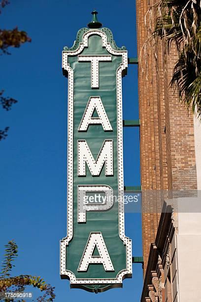 タンパ劇場の看板の建物で、フロリダ州タンパ