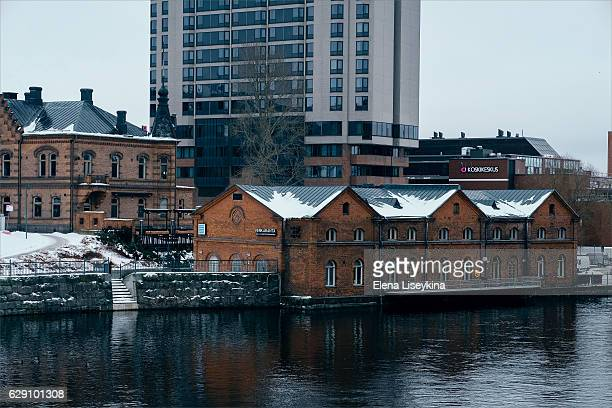 Tampere town architecture. Finland