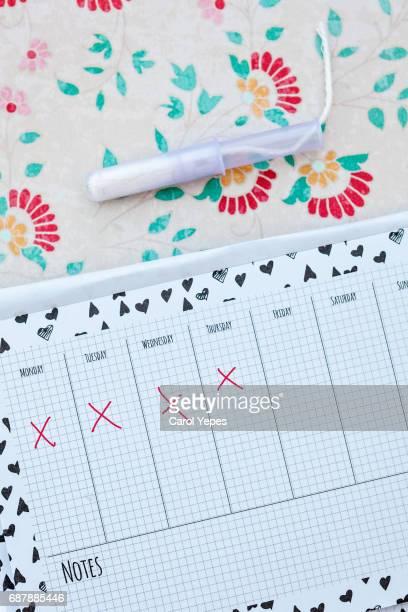 Tampon and Calendar