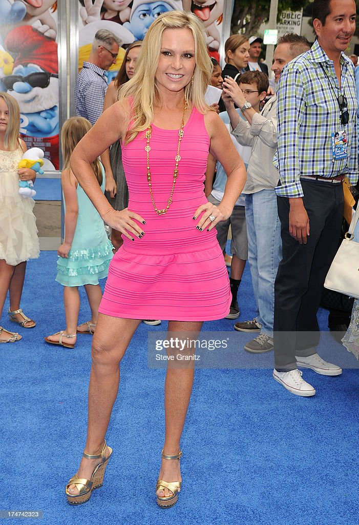 Tamra Barney arrivies at the 'Smurfs 2' - Los Angeles Premiere at Regency Village Theatre on July 28, 2013 in Westwood, California.