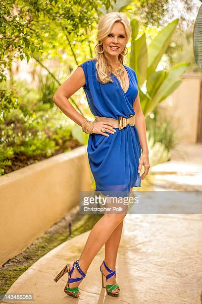 Tamra Barney of 'Real Housewives Of Orange County' poses during a photo shoot April 21 2012 in Laguna Beach California
