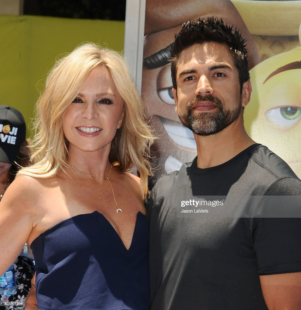 Tamra Judge and husband Eddie Judge attend the premiere of 'The Emoji Movie' at Regency Village Theatre on July 23, 2017 in Westwood, California.