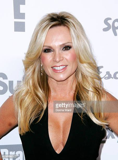 Tamra Judge appears during the 2015 NBCUniversal Cable Entertainment Upfront at The Jacob K Javits Convention Center on May 14 2015 in New York City