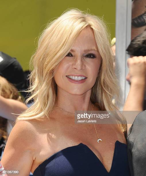 Tamra Judge attends the premiere of 'The Emoji Movie' at Regency Village Theatre on July 23 2017 in Westwood California