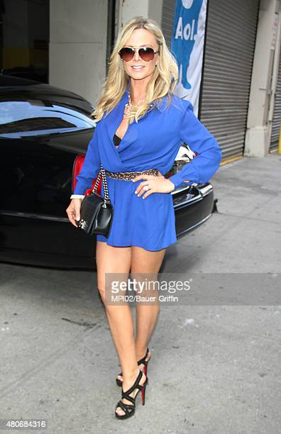 Tamra Judge promoting the new season of The Real Housewives of Orange County on July 13 2015 in New York City