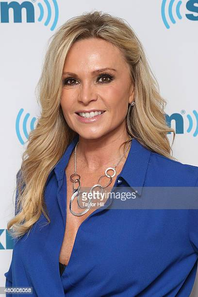 Tamra Judge visits the SiriusXM Studios on July 13 2015 in New York City