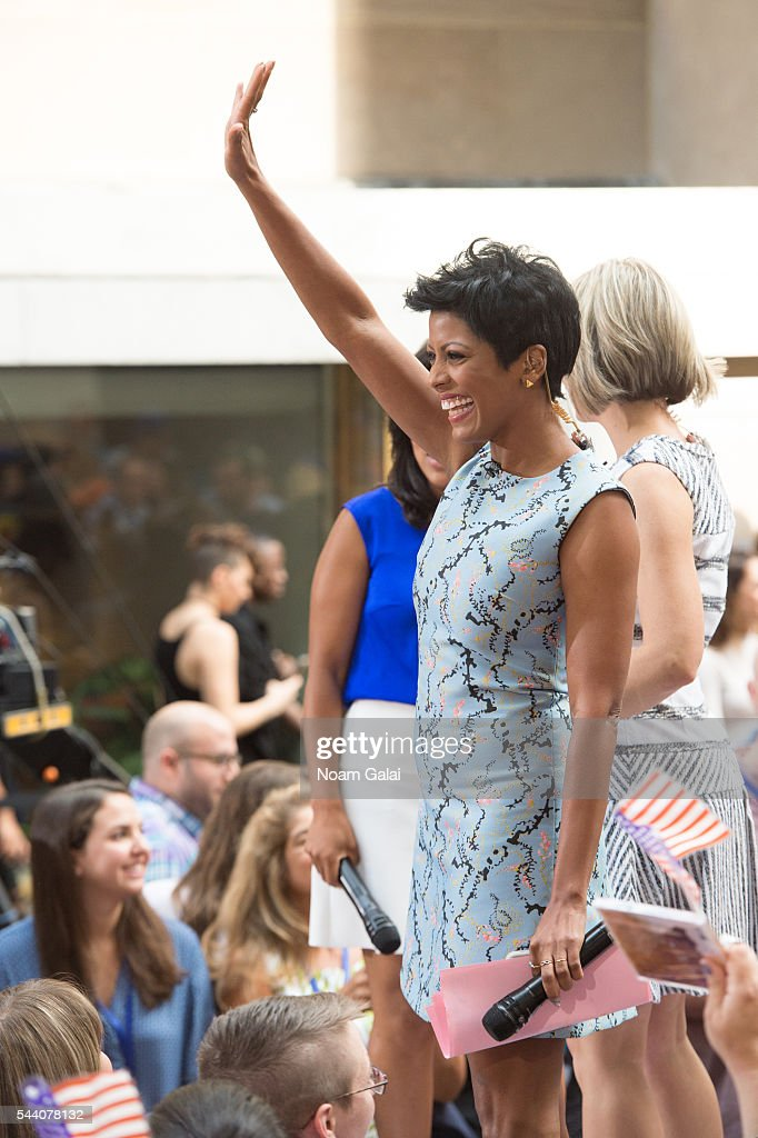 Tamron Hall attends NBC's 'Today' at Rockefeller Plaza on July 1, 2016 in New York City.