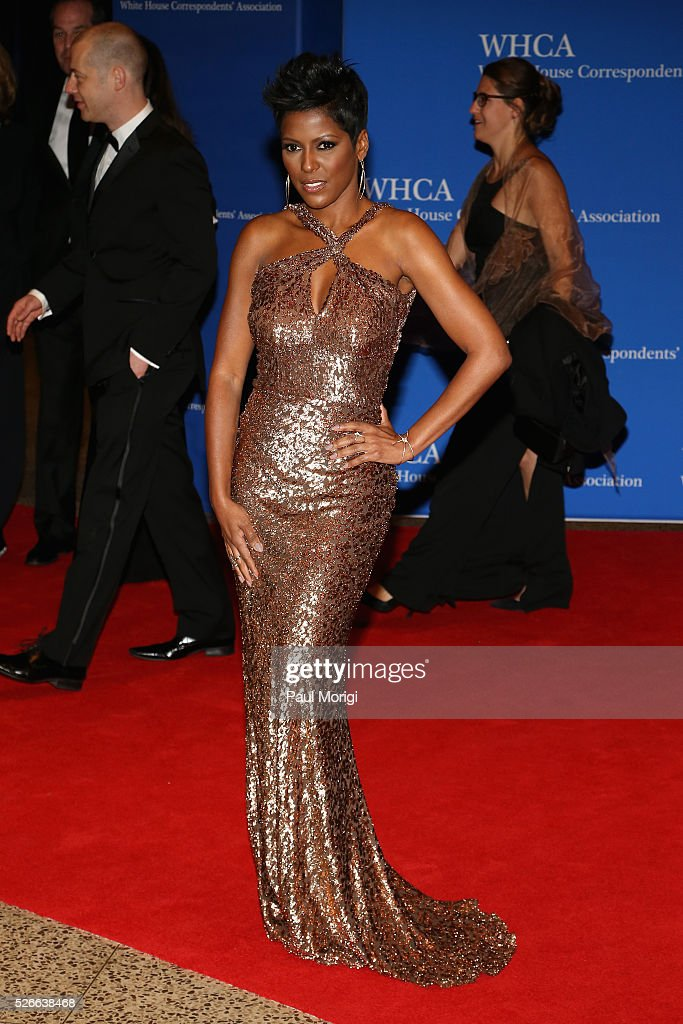 Tamron Hall attends the 102nd White House Correspondents' Association Dinner on April 30, 2016 in Washington, DC.