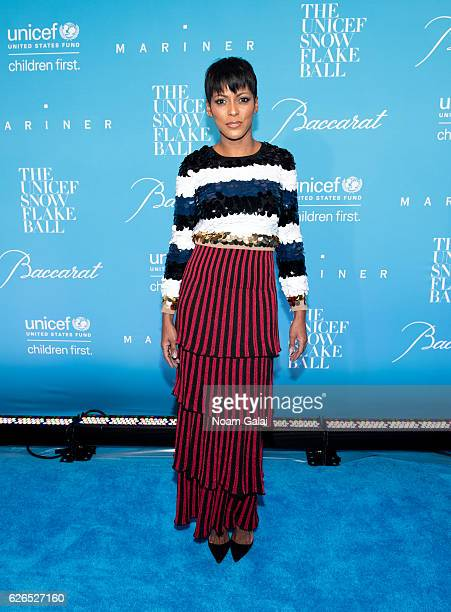 Tamron Hall attends the 12th Annual UNICEF Snowflake Ball at Cipriani Wall Street on November 29 2016 in New York City