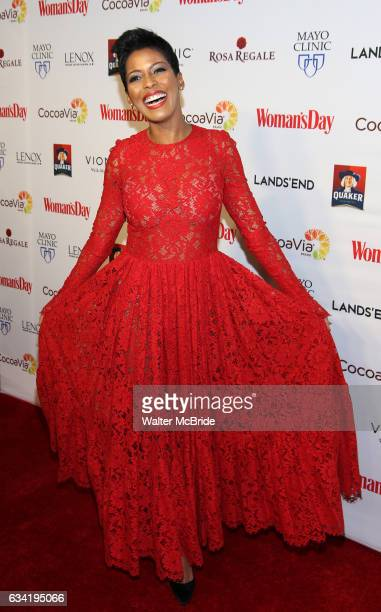 Tamron Hall attends the 14th Annual Red Dress Awards presented by Woman's Day Magazine at Jazz at Lincoln Center Appel Room on February 7 2017 in New...