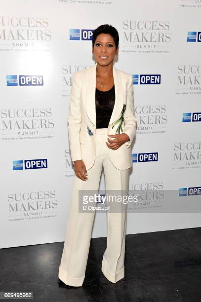 Tamron Hall attends the 2017 Success Makers Summit at Spring Place on April 17 2017 in New York City