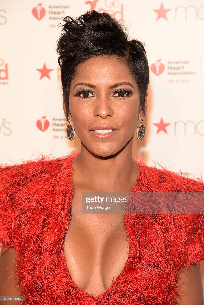 Tamron Hall attends The American Heart Association's Go Red For Women Red Dress Collection 2016 Presented By Macy's at The Arc, Skylight at Moynihan Station on February 11, 2016 in New York City.