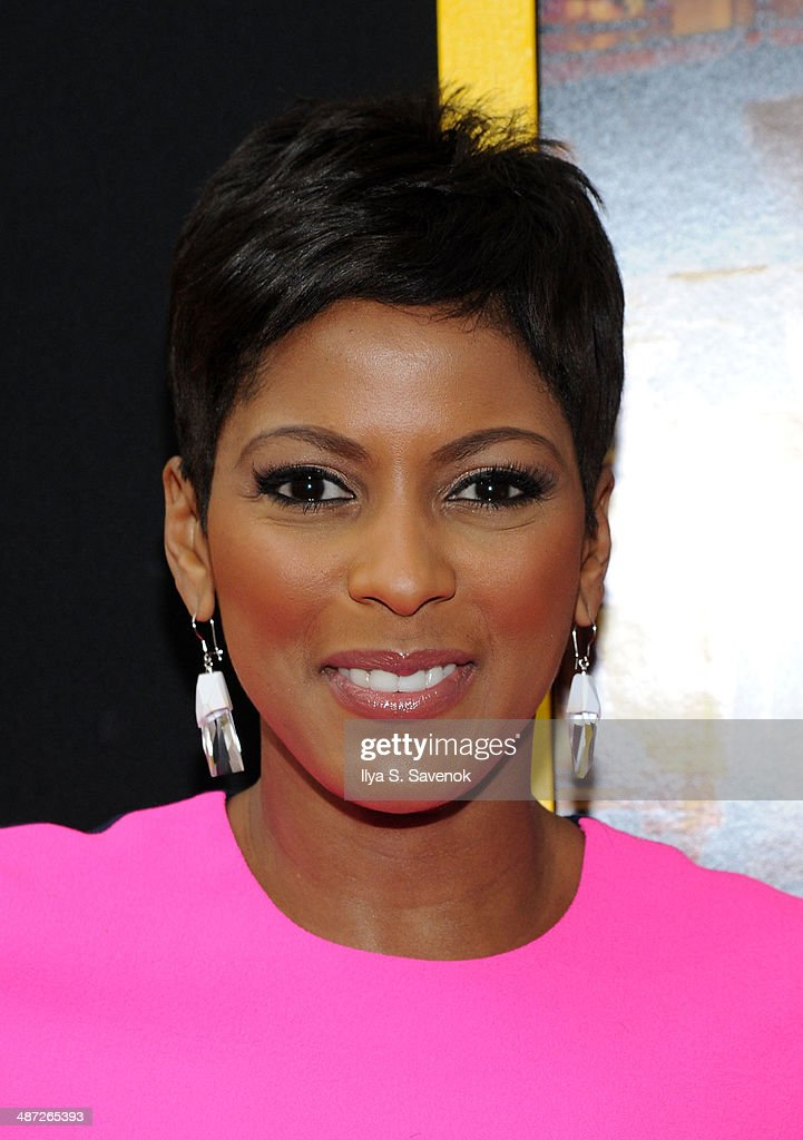 Tamron Hall attends the 'Belle' premiere at The Paris Theatre on April 28, 2014 in New York City.