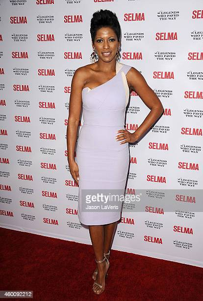 Tamron Hall attends the 'Selma' and the Legends Who Paved the Way gala at Bacara Resort on December 6 2014 in Goleta California