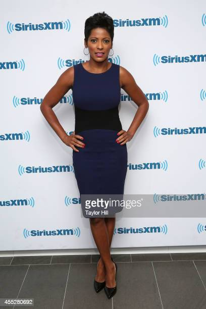 Tamron Hall visits the SiriusXM Studios on September 11 2014 in New York City