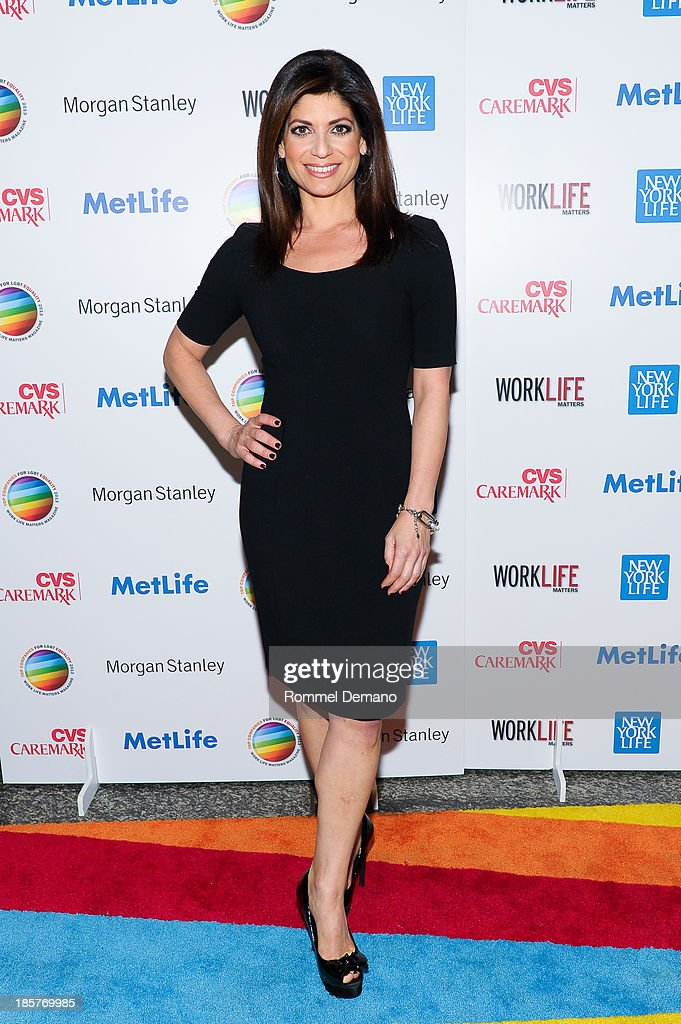 Tamsen Fadal attends the 11th Annual Work Life Matters gala at Club 101 on October 24, 2013 in New York City.