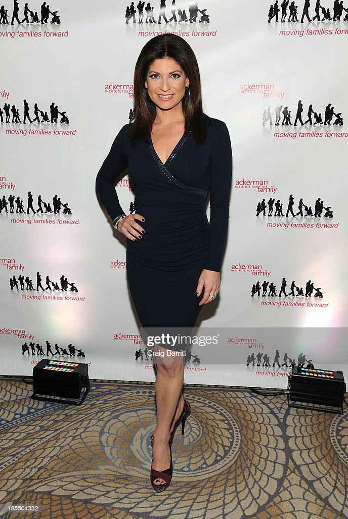 Tamsen Fadal attends the 2013 Families Moving Forward gala at The Waldorf Astoria on October 21, 2013 in New York City.