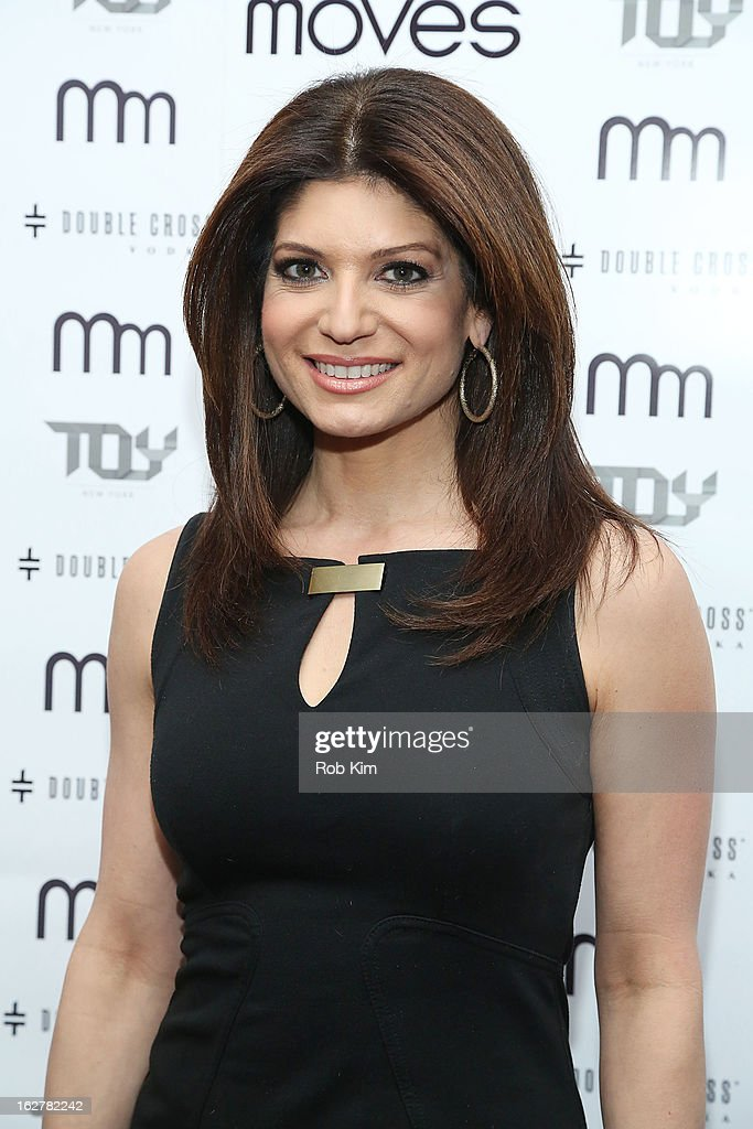 Tamsen Fadal attends the Moves' 2013 Spring Fashion Issue Mens Cover Party at TOY at Gansevoort Hotel on February 26, 2013 in New York City.