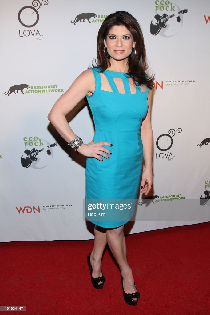 Tamsen Fadal attends The Rainforest Action Network Benefit at The Cutting Room on February 17, 2013 in New York City.