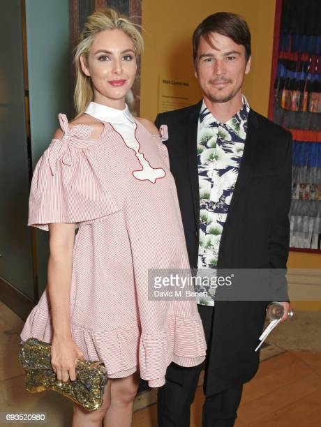 Tamsin Egerton and Josh Hartnett attend the Royal Academy Of Arts Summer Exhibition preview party at Royal Academy of Arts on June 7 2017 in London...