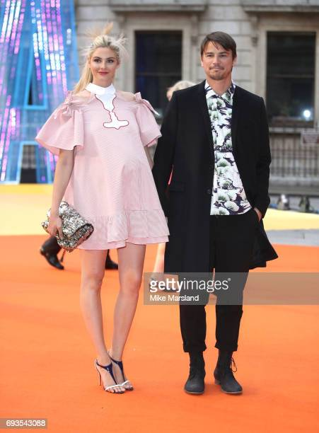Tamsin Egerton and Josh Hartnett attends the preview party for the Royal Academy Summer Exhibition at Royal Academy of Arts on June 7 2017 in London...