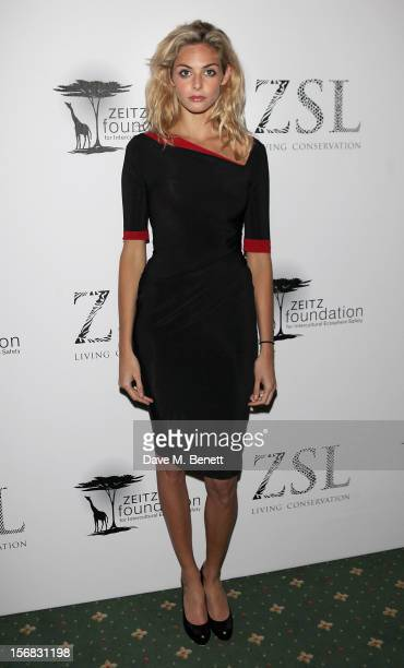 Tamsin Egerton arrives at the Zeitz Foundation and ZSL Gala at London Zoo on November 22 2012 in London England