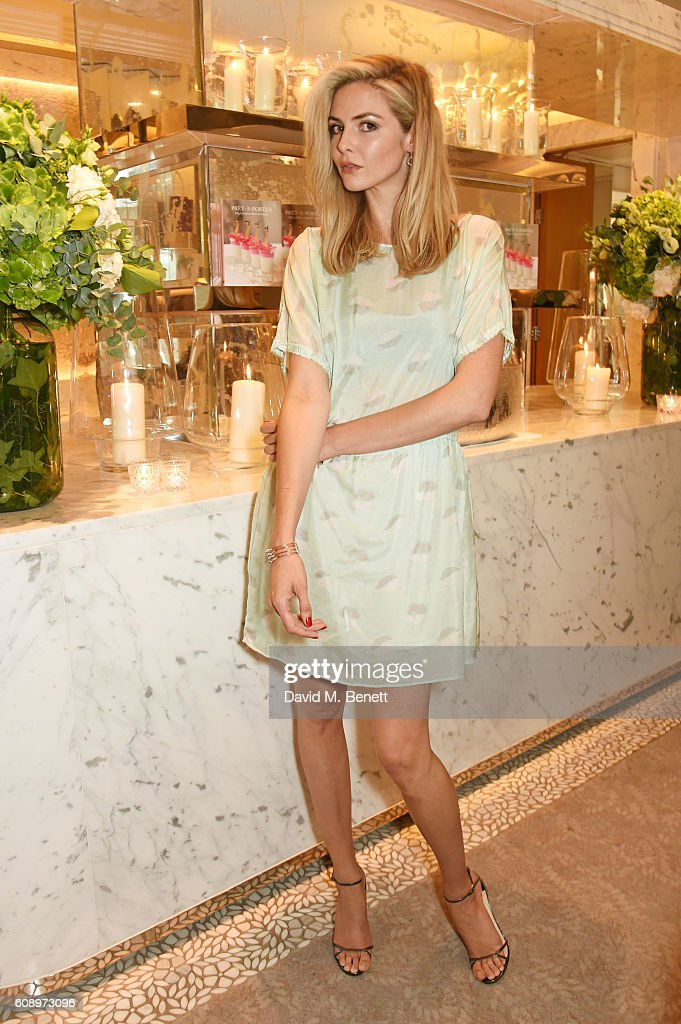 Tamsin Egerton attends the Jimmy Choo 20th Anniversary and Pret-a-Portea book launch at The Berkeley Hotel on September 20, 2016 in London, England.