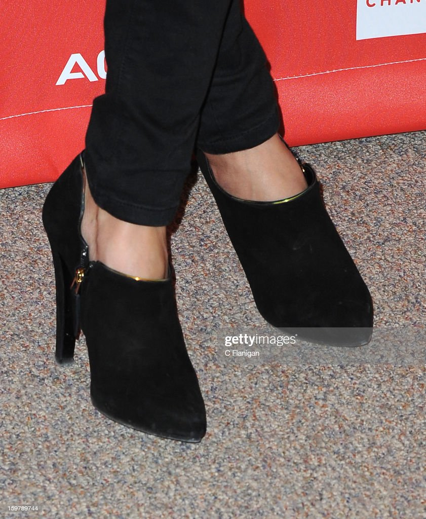 <a gi-track='captionPersonalityLinkClicked' href=/galleries/search?phrase=Tamsin+Egerton&family=editorial&specificpeople=2118936 ng-click='$event.stopPropagation()'>Tamsin Egerton</a> (Shoe Detail) attends 'The Look Of Love' premiere at Eccles Center Theatre during the 2013 Sundance Film Festival on January 19, 2013 in Park City, Utah.