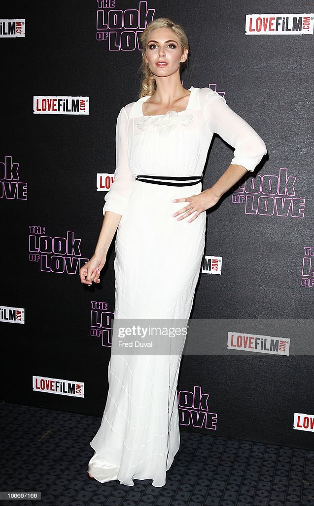 Tamsin Egerton attends 'The Look Of Love' UK premiere at Curzon Soho on April 15, 2013 in London, England.