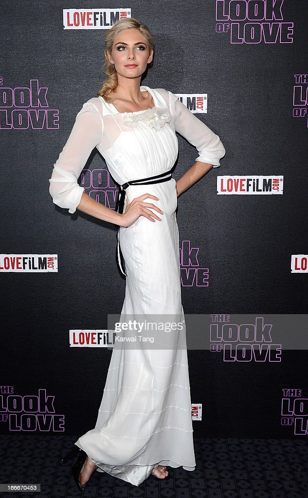 Tamsin Egerton attends 'The Look Of Love' UK premiere at Curzon Soho on April 15 2013 in London England