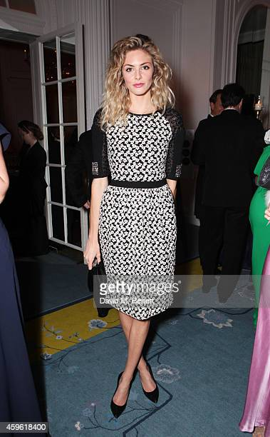 Tamsin Egerton attends the Louis Dundas Centre Dinner at the Mandarin Oriental Hyde Park on November 26 2014 in London England