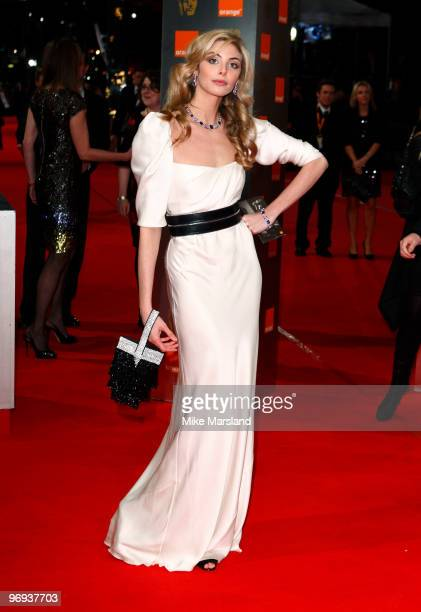 Tamsin Egerton attends The Orange British Academy Film Awards 2010 at The Royal Opera House on February 21 2010 in London England