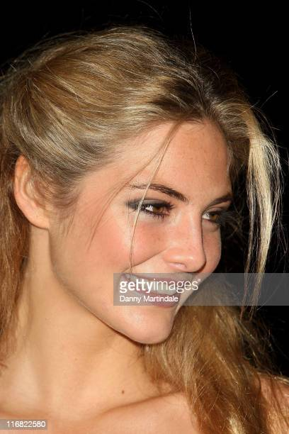 Tamsin Egerton attends The Prince's Trust Invest in Futures Gala Dinner at Old Billingsgate Market on November 6 2008 in London England