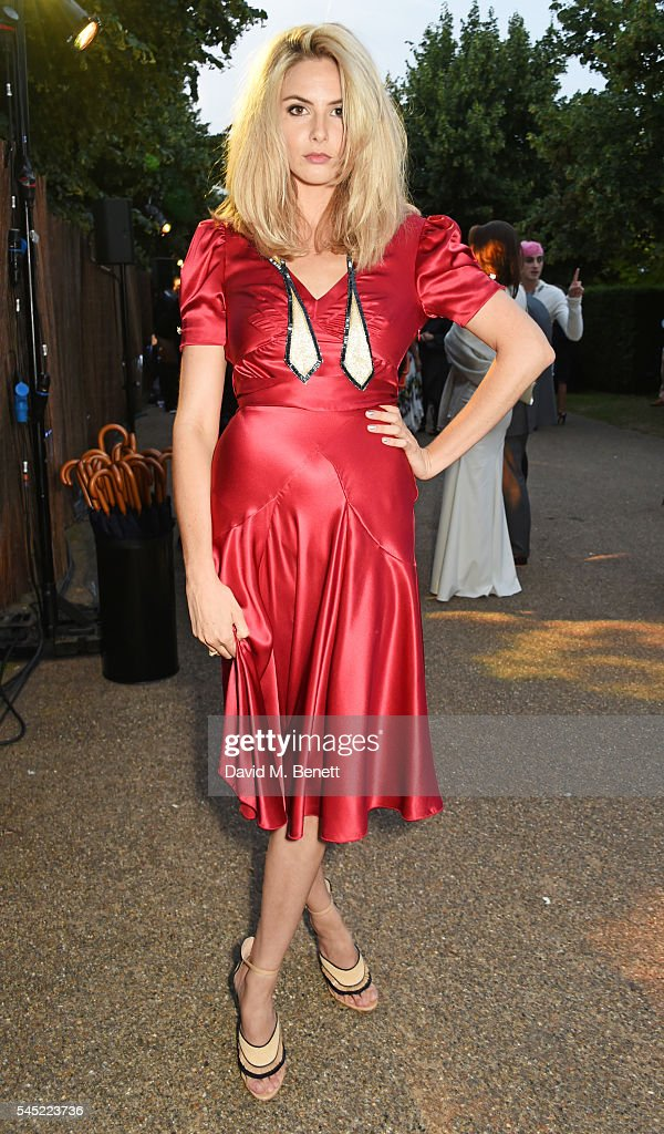 Tamsin Egerton attends The Serpentine Summer Party co-hosted by Tommy Hilfiger on July 6, 2016 in London, England.