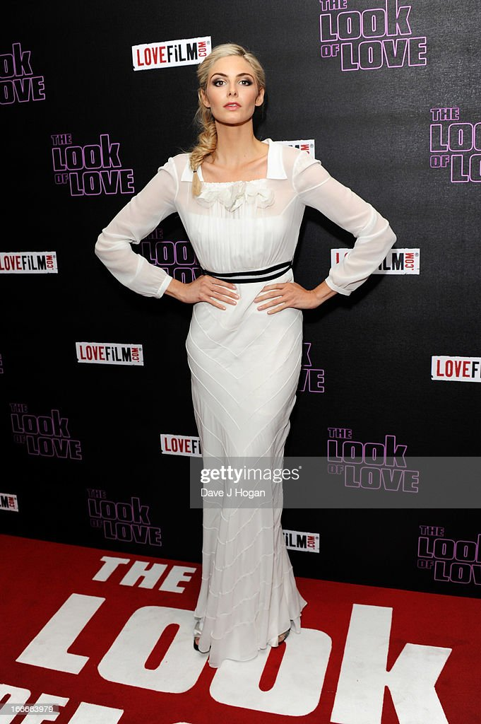 Tamsin Egerton attends the UK premiere of 'The Look Of Love' at The Curzon Soho on April 15 2013 in London England