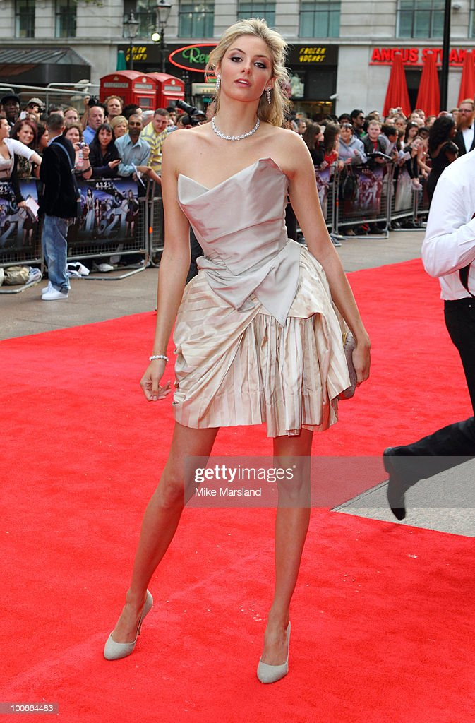 Tamsin Egerton attends the World Premiere of 4,3,2,1 at Empire Leicester Square on May 25, 2010 in London, England.
