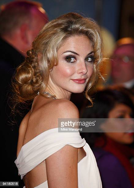 Tamsin Egerton attends the World Premiere of St Trinian's 2 The Legend of Fritton's Gold at Empire Leicester Square on December 9 2009 in London...