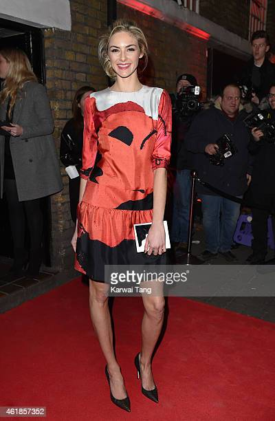 Tamsin Egerton attends the YSL Beaute YSL Loves Your Lips party at The Boiler HouseThe Old Truman Brewery on January 20 2015 in London England