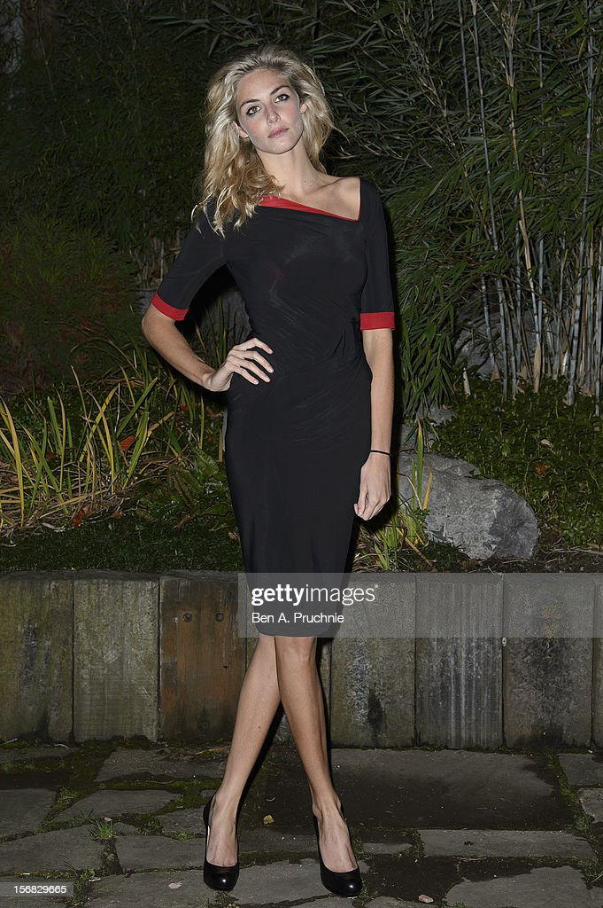 Tamsin Egerton attends the Zeitz Foundation and ZSL gala at London Zoo on November 22, 2012 in London, England.