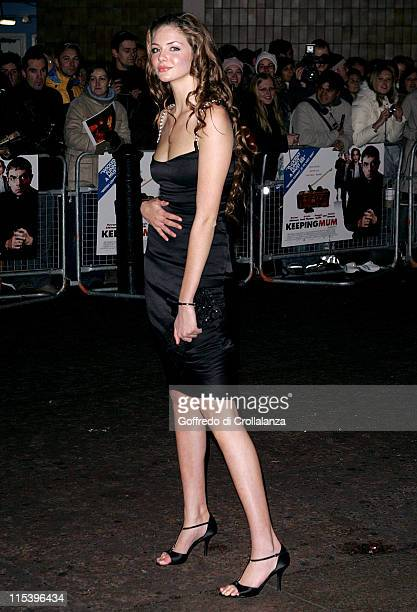 Tamsin Egerton during 'Keeping Mum' London Premiere at Vue Cinema Leicester Square in London Great Britain