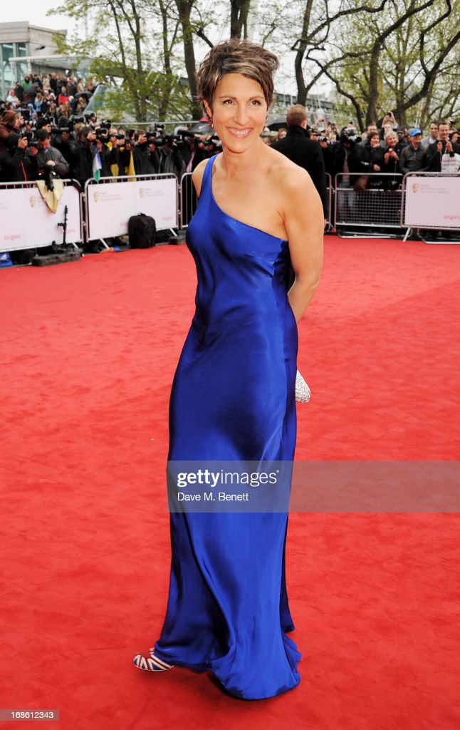 Tamsin Greig attends the Arqiva British Academy Television Awards 2013 at the Royal Festival Hall on May 12, 2013 in London, England.