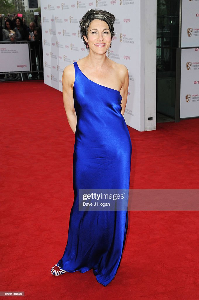 Tamsin Greig attends the BAFTA TV Awards 2013 at The Royal Festival Hall on May 12, 2013 in London, England.