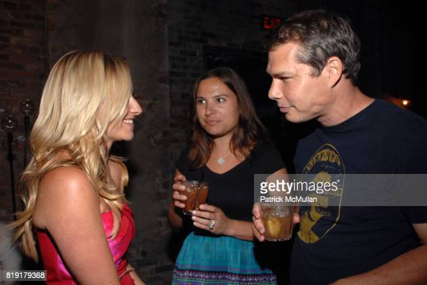 Tamsin Lonsdale Angela Robins Shepard Fairey attend The Supper Club Shepard Fairey's SNO host a Bombay Sapphire Tea Party at The Tea Room on July 20...
