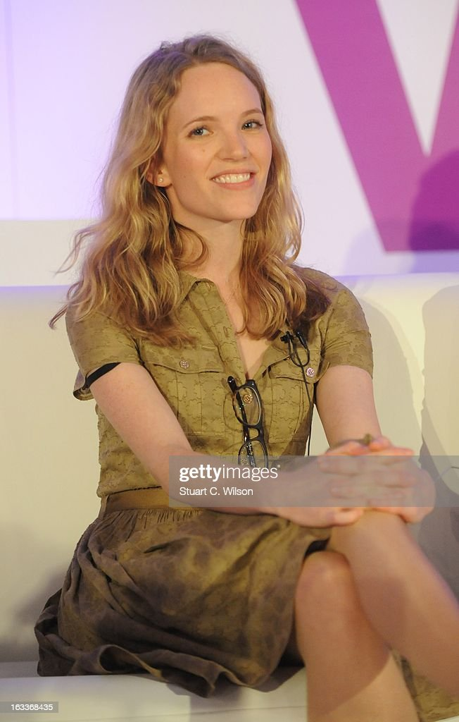 Tamsin Merchant attends the annual WIE Symposium at The Hospital Club on March 8, 2013 in London, England.
