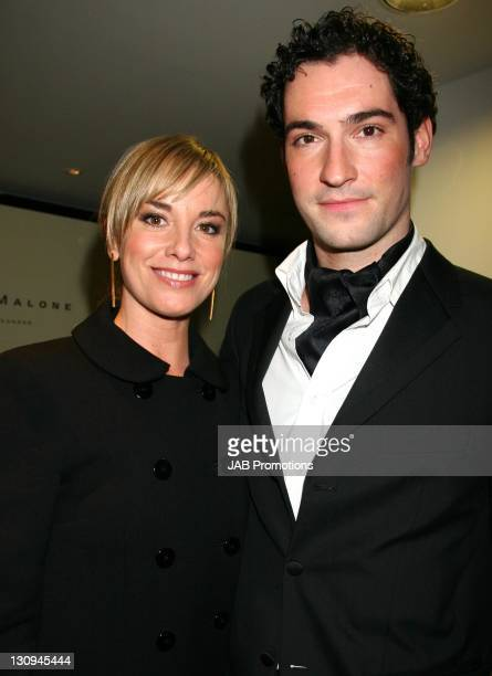 Tamsin Outhwaite and Guest backstage in the Sultans of Swag Gift Lounge at the 2006 British Comedy Awards