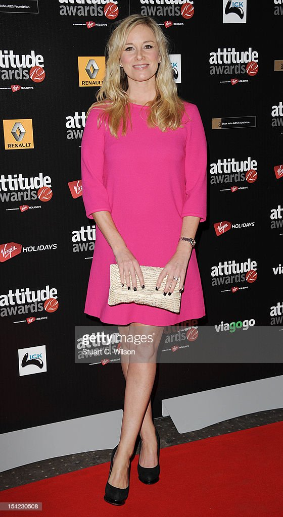Tamsin Outwaite attends the Attitude Magazine Awards at One Mayfair on October 16, 2012 in London, England.