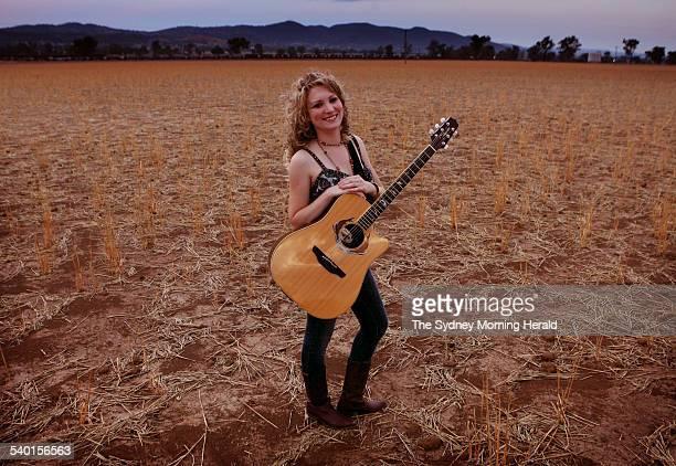 Tamworth Country Musical Festival 2007 Country music singer and songwriter Katrina Burgoyne from Gunnedah poses for a portrait in Tamworth where she...