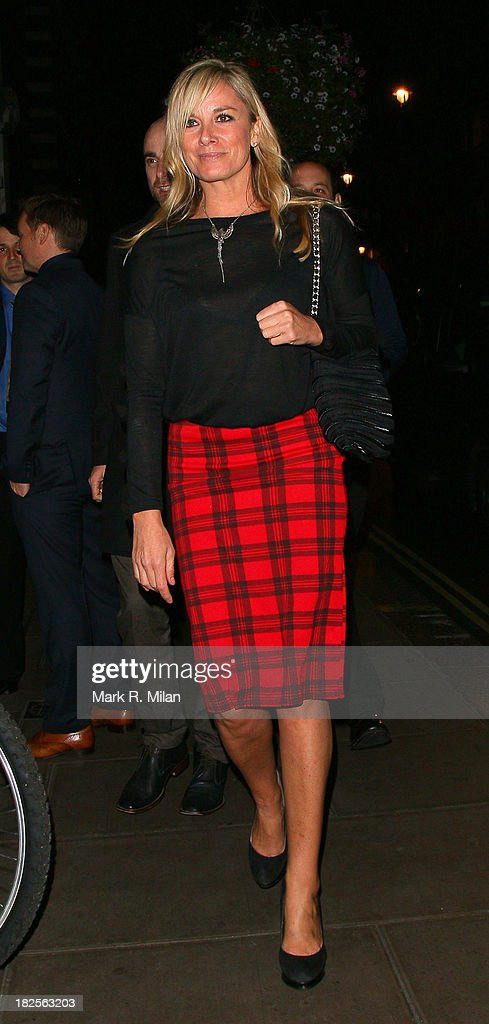 <a gi-track='captionPersonalityLinkClicked' href=/galleries/search?phrase=Tamzin+Outhwaite&family=editorial&specificpeople=203115 ng-click='$event.stopPropagation()'>Tamzin Outhwaite</a> at the Groucho club on September 30, 2013 in London, England.