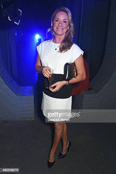 Tamzin Outhwaite attends 'Above / Beyond' hosted by American Airlines at One Marylebone on September 29 2015 in London England