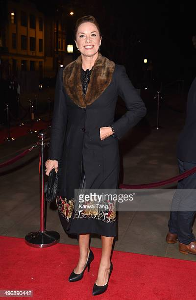 Tamzin Outhwaite attends the Park Theatre Annual Gala Dinner at Stoke Newington Town Hall on November 12 2015 in London England